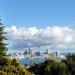 View over Auckland CBD from Mt Victoria, Devonport