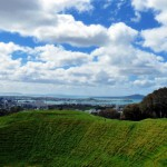 Mt Eden crater view
