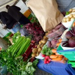 Oratia farmers market, fresh vegetables