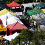 Titirangi market, colourful aye :)